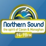 Logo da emissora Northern Sound 94.8 FM