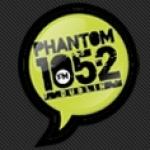 Logo da emissora Phantom FM 91.6