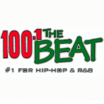 Logo da emissora Radio KRVV 100.1 The Beat FM