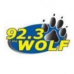 Logo da emissora Radio KMYY The Wolf 92.3 FM