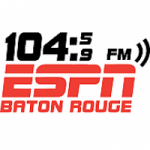 Logo da emissora Radio KNXX ESPN Baton Rouge 104.9 FM