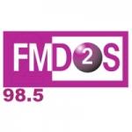 Logo da emissora Radio FM Dos 98.5