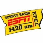 Logo da emissora Radio KPEL ESPN 1420 AM