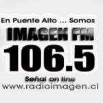 Logo da emissora Radio Imagen 104.5 FM