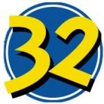 Logo da emissora Radio 32 93.1 FM