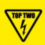 Logo da emissora Top Two 98.9 FM