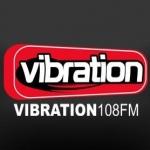 Logo da emissora Vibration 108 FM