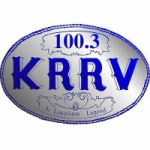 Logo da emissora Radio KRRV 100.3 FM
