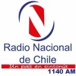 Logo da emissora Radio Nacional De Chile 1140 AM