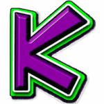 Logo da emissora Radio KRUF K 94.5 FM