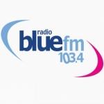 Logo da emissora Blue 103.4 FM