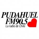 Logo da emissora Radio Pudahuel 90.5 FM