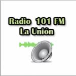 Logo da emissora Radio 101.1 FM La Union