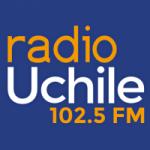 Logo da emissora Radio UChile 102.5 FM