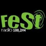 Logo da emissora Fest 100.2 FM