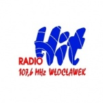 Logo da emissora HIT 107.6 FM