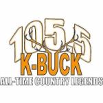 Logo da emissora Radio KBKK K-Buck 105.5 FM