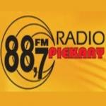 Logo da emissora Piekary 88.7 FM