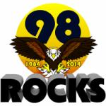 Logo da emissora Radio KTAL 98 Rocks 98.1 FM