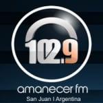 Logo da emissora Radio Amanecer 102.9 FM