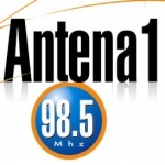 Logo da emissora Radio Antena 1 98.5 FM