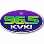Logo da emissora Radio KVKI 96.5 FM