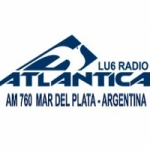 Logo da emissora Radio Atlantica 760 AM
