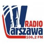Logo da emissora Warszawa 106.2 FM