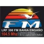 Logo da emissora Radio Bahía Engaño 104.5 FM