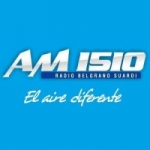 Logo da emissora Radio Belgrano 1510 AM