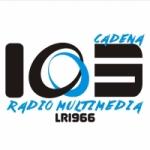 Logo da emissora Radio Cadena 103.1 FM