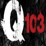 Logo da emissora WQBK 103.5 FM