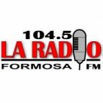 Logo da emissora La Radio 104.5 FM