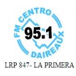 Logo da emissora Radio Centro 95.1 FM