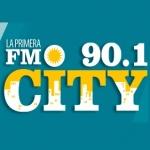 Logo da emissora Radio City 90.1 FM