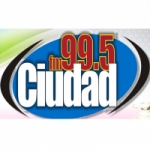 Logo da emissora Radio Ciudad 99.5 FM