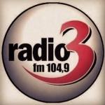 Logo da emissora Radio 3 Bodo 107.4 FM