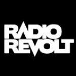 Logo da emissora Revolt 100.0 FM