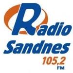 Logo da emissora Sandnes 105.2 FM