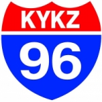 Logo da emissora Radio KYKZ 96.1 FM