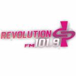 Logo da emissora Radio Revolution 101.9 FM