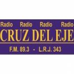 Logo da emissora Radio Cruz del Eje 89.3 FM