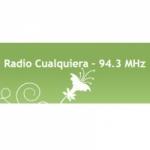 Logo da emissora Radio Cualquiera 94.3 FM
