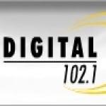 Logo da emissora Radio Digital 102.1 FM