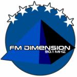 Logo da emissora Radio Dimensión 90.1 FM
