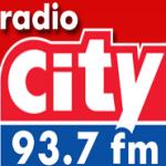 Logo da emissora City 93.7 FM Zona Lasky