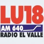 Logo da emissora Radio El Valle 640 AM
