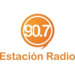 Logo da emissora Radio Estación 90.7 FM
