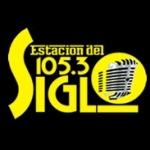Logo da emissora Radio Estacion del Siglo 105.3 FM