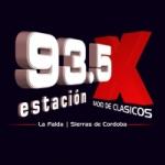 Logo da emissora Radio Estación X 93.5 FM
